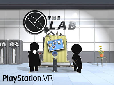 HTC Vive: The Lab